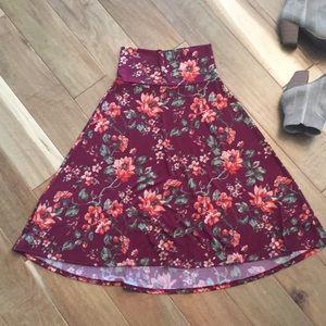 LuLaRoe Skirts - LuLaRoe Xs Azure Skirt FINAL PRICE